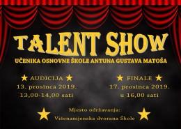 Plakat Talent Show 2019